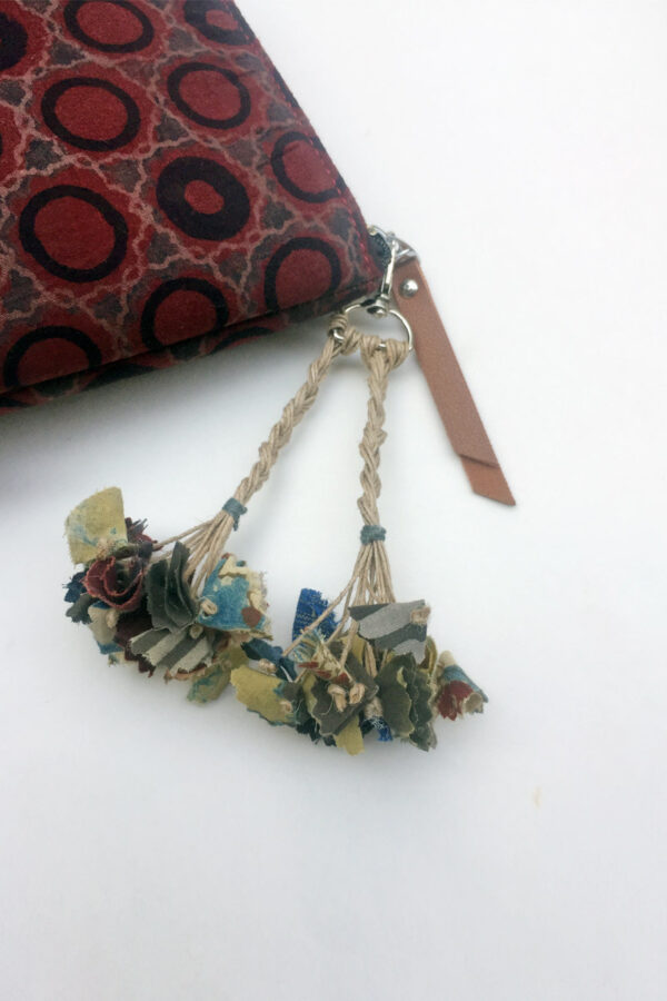 Handmade Bag Charms – Braided with tassels