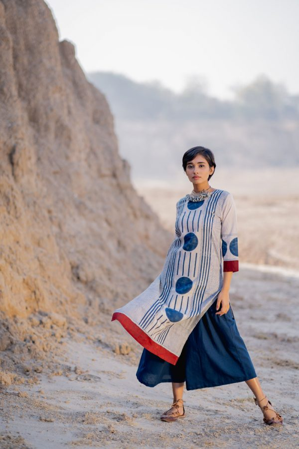 Everyday Kurta – Indigo Centre Circle