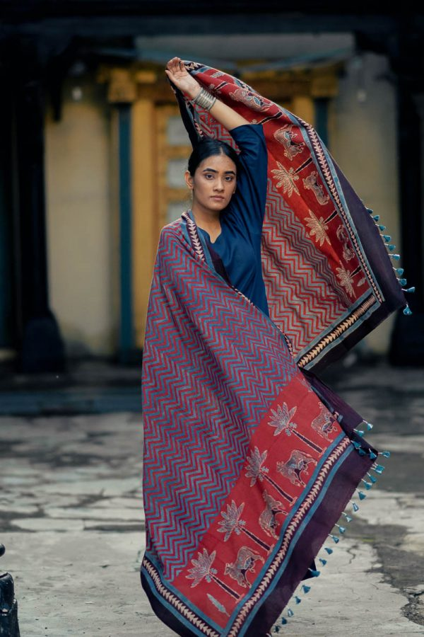 Cotton Dupatta – Gulenar 03
