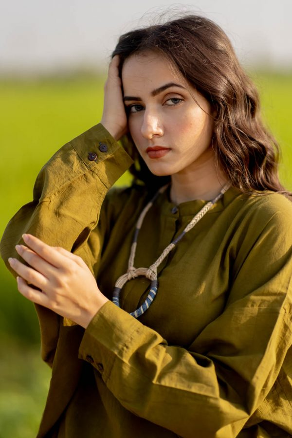 Freesize Anti fit Top – Olive